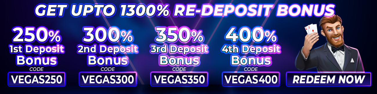 Bonus Packages Vegasrush